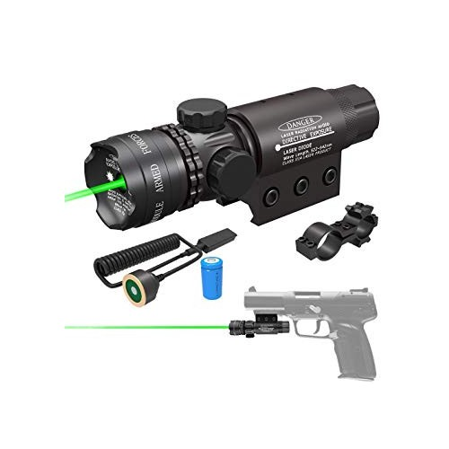 Green Remote Dot Sight Metal Laser Scope for Rifle Gun