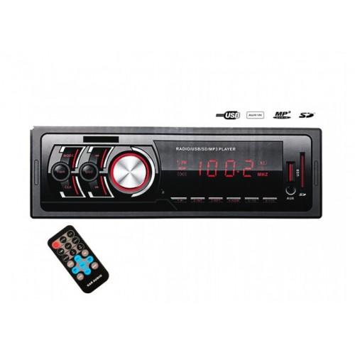 Авто магнитола MP3, 1782 (USB, SDHC, AUX, FM)