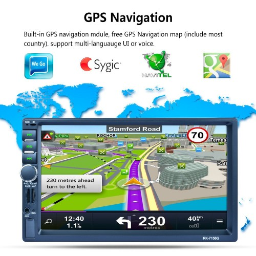 6906GPS CAR PLAYER