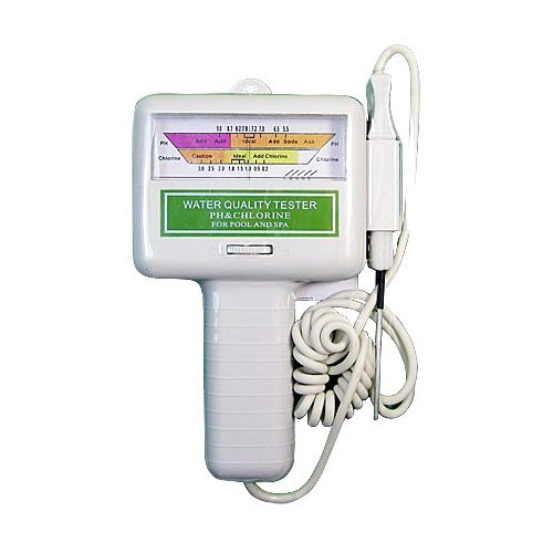 PH CL2 Chlorine Level Meter Swimming Pool Water Spa Quality Tester Test PC- 101 b