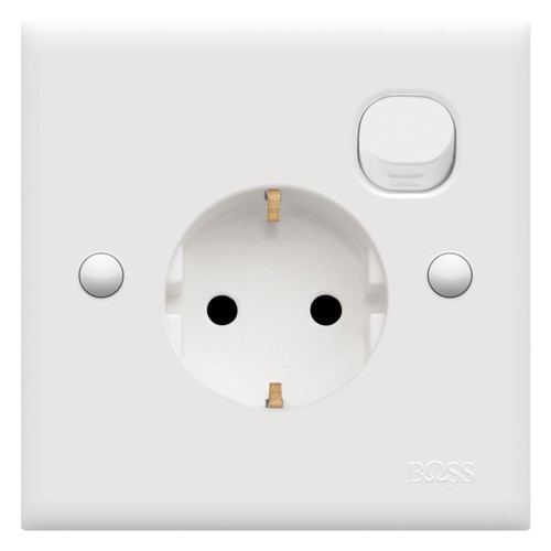 Schuko Socket w/ Switch
