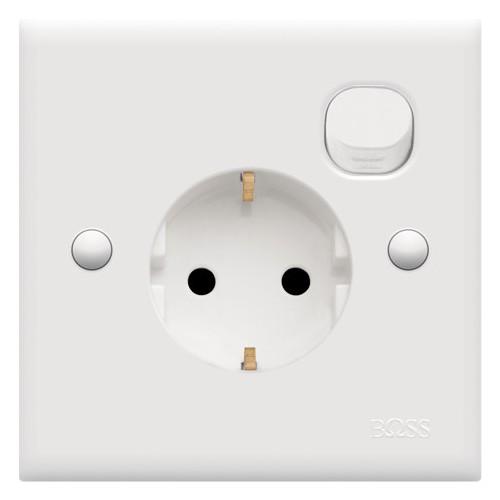 Schuko Socket w/ Switch