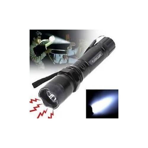Φακός με Ηλεκτροσόκ + Φακός LED + Θήκη αποθήκευσης
