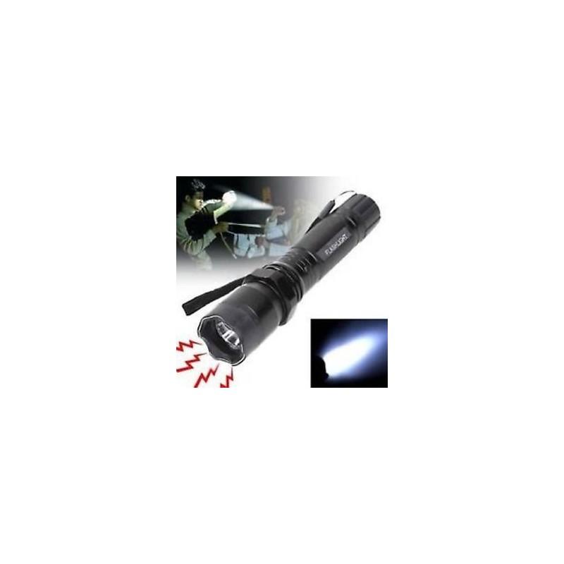 Φακός με ηλεκτροσόκ: Ηλεκτροσόκ + Φακός LED + Θήκη αποθήκευσης