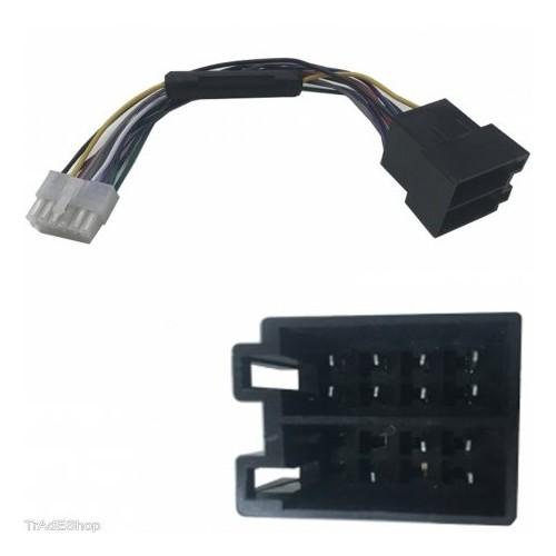 ISO Connector 12 Pin Adaptor Cable for Car Stereo Radio