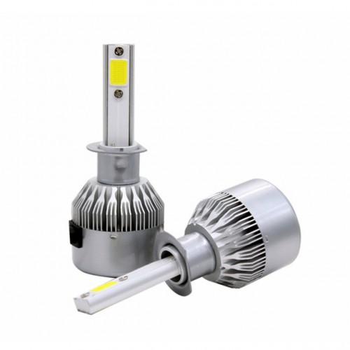 High Bright Car LED Headlight C6 COB Auto Headlamp H1 30w 3800LM