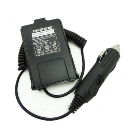 Car Charger Battery Eliminator Adapter For Portable Radio UV 5R UV-5RE Plus UV-5