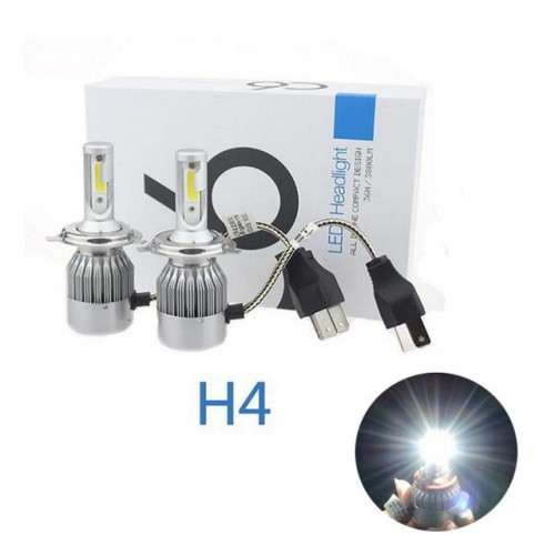 S6 H4 LED 6000K LED BULBS
