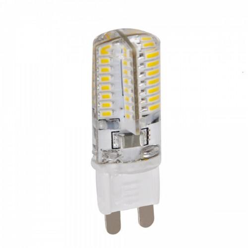 G9 3W 200lm 64-SMD 3014 LED Cool White Lamp Bulb (230V)