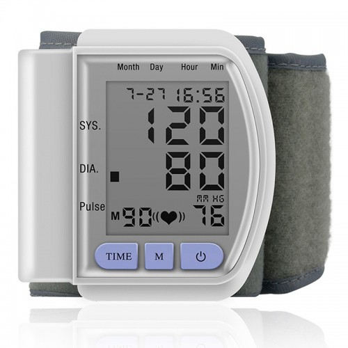 Monitor LPY-CK-102S Wrist Automatic Blood Pressure, for Home Use