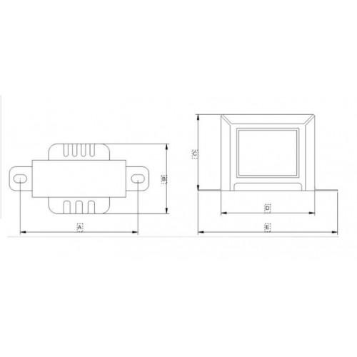 Transformer L-Frank Audio HTS-30
