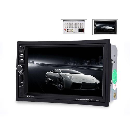 7018B 7 Inch Bluetooth V2.0 Car MP5 Player