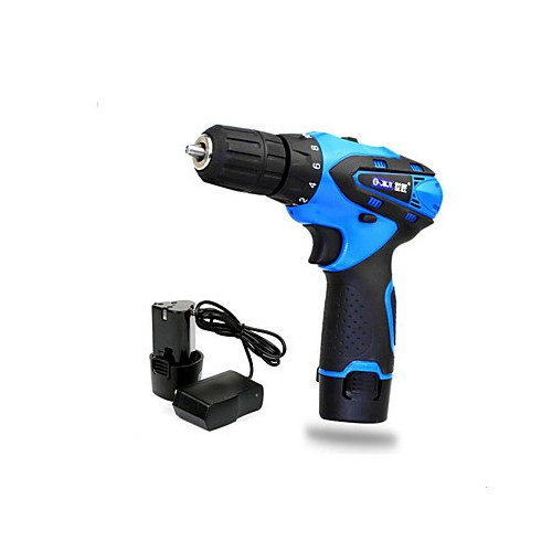 12V double speed lithium rechargeable drill drill multifunctional pistol drill set