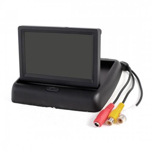 4.3 TFT LCD Foldable Car Monitor