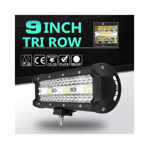 Tri Row LED Light Bar -9 Inch 180W LED Work Light Spot Flood Combo Led