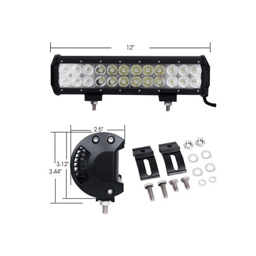 LED LIGHT BAR 72W new LED ΜΠΑΡΕΣ