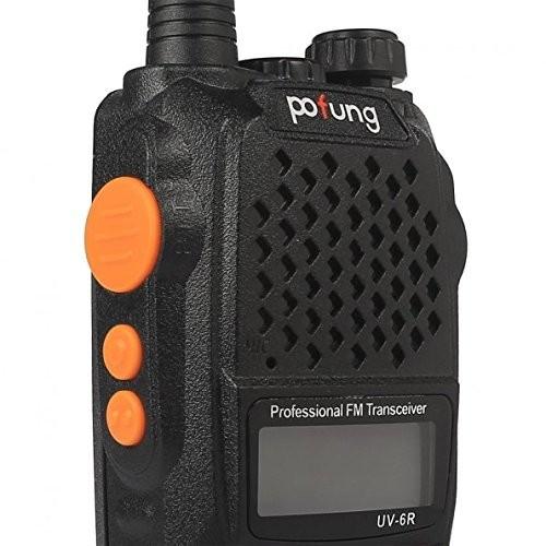 Pofung UV-6R NEW ΦΟΡΗΤΟΣ dual band ΠΟΜΠΟΔΕΚΤΗΣ VHF/UHF