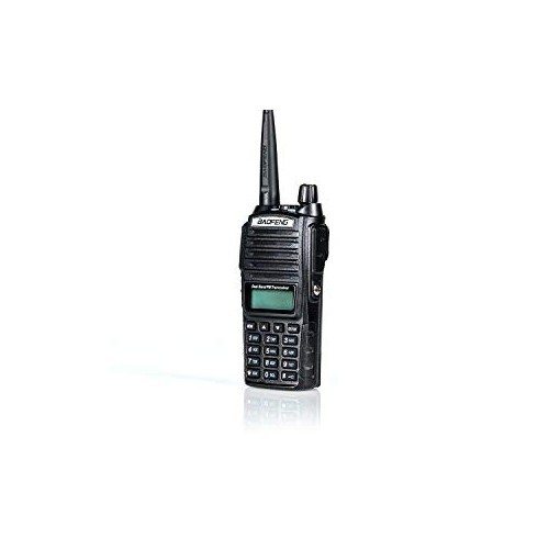 High Power Dual Band Radio: 136-174mhz (VHF) 400-520mhz (UHF) Amateur (Ham) Portable Two-Way