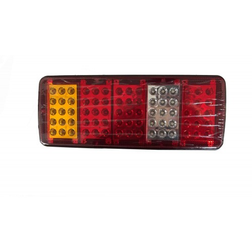 75 LED Rear Tail Indicator Stop Lights Taillight Truck Lamp 12v