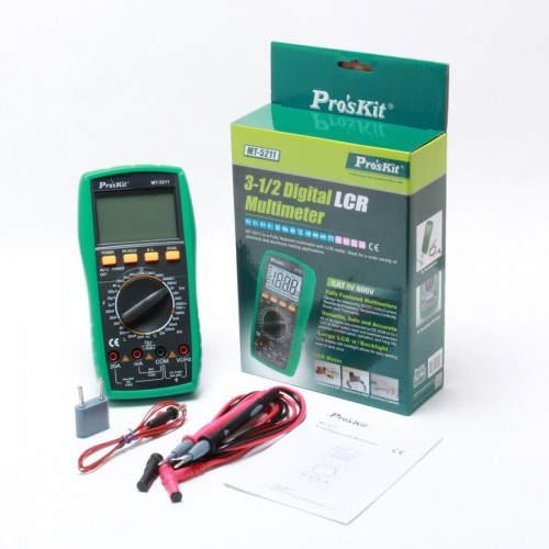 PRO'SKIT Proskit MT-5211 Digital LCR Multimeter