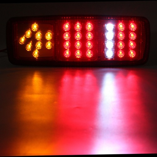 33 LED Stop Brake Rear Tail Light Indicator Reverse Lamp 12V for trailers trucks boat van caravans