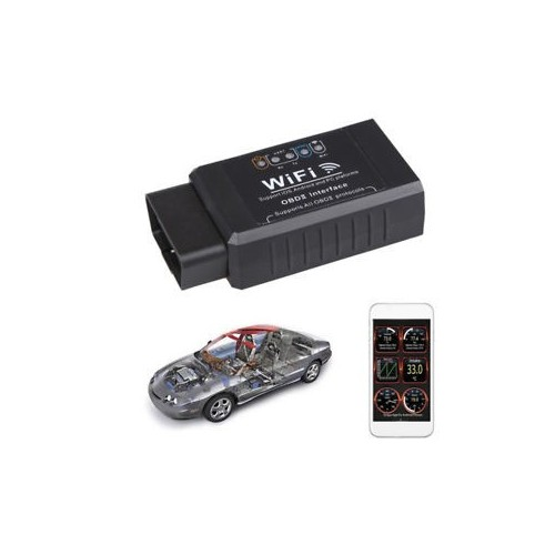 WIFI OBD2 EOBD Scan Tool USB Cable support Android and IPhone/IPad