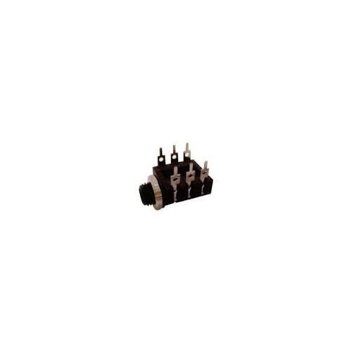 ΘΗΛΥΚΟ ΚΑΡΦΙ 6,3mm STEREO (TRS) ΠΛΑΚΕΤΑΣ 6 PIN