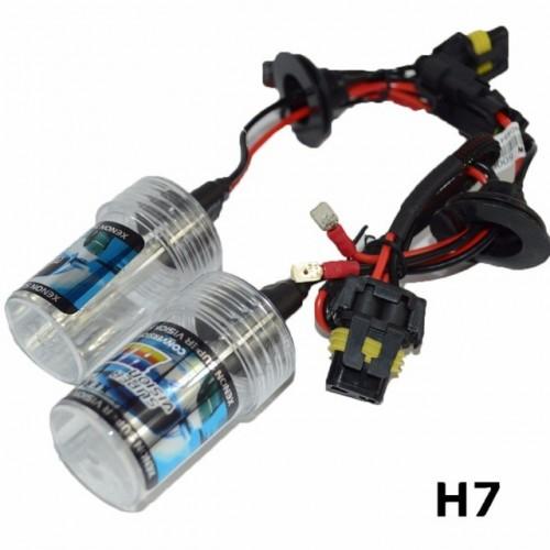 5W H7 Xenon Bulb 12V Car HID Xenon Replacement Headlight Lamp 6000K