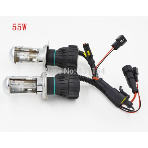H4/9003 55W 6000K HI/LO Beam Bi-Xenon HID Kit Light Lamp Double Beam Bulbs by LS