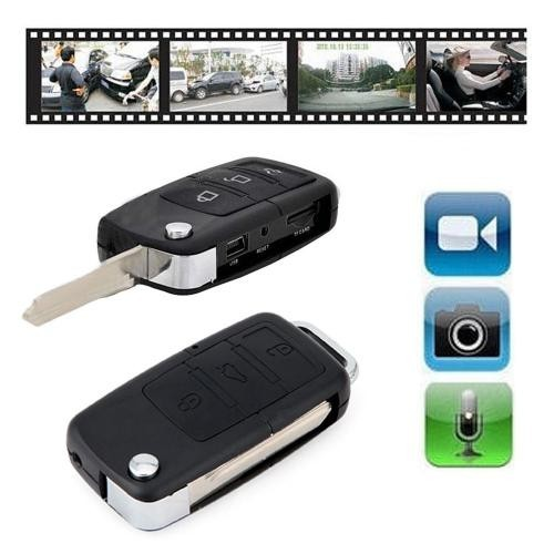 Spy Camera Car Key Mini DVR Camcorder Motion Detective Video Recorder AVI Format mini DVR