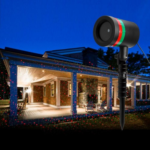 Star Shower Motion Laser Light by BulbHead - Indoor Outdoor Laser Light