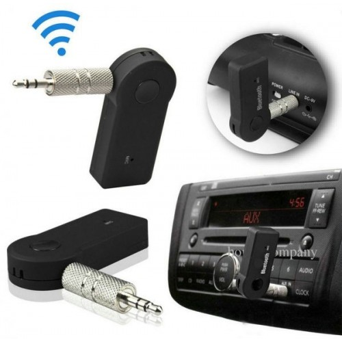 Car 3.5mm AUX Home Speaker MP3 Car Music Sound System Hands Free Calling Built-in Mic