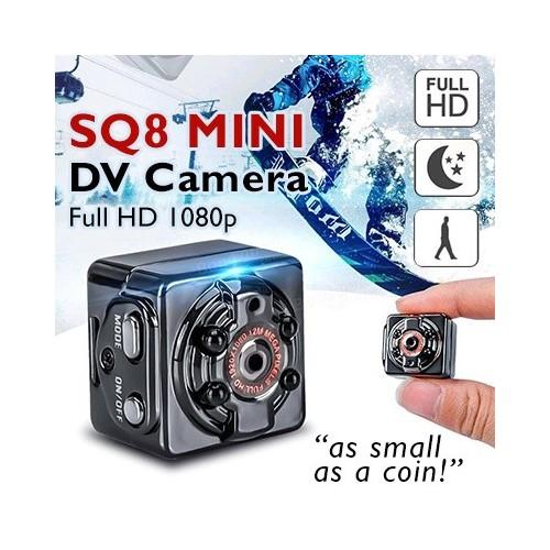 SQ8 Mini DV Spy Camera Full HD 1080P Video Recording Wireless Motion Detecting Hidden Video Camera Sports DVR