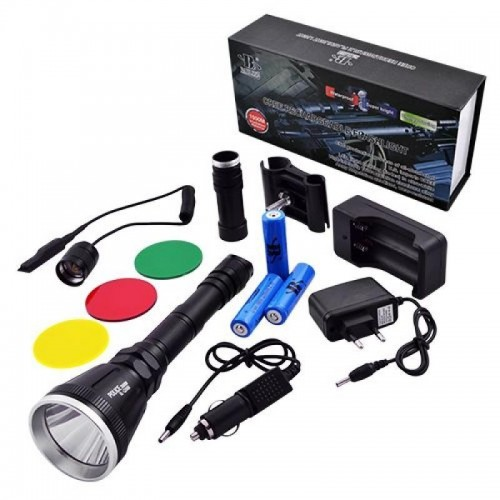 GUN Hunting LED Flashlight BL-Q3888