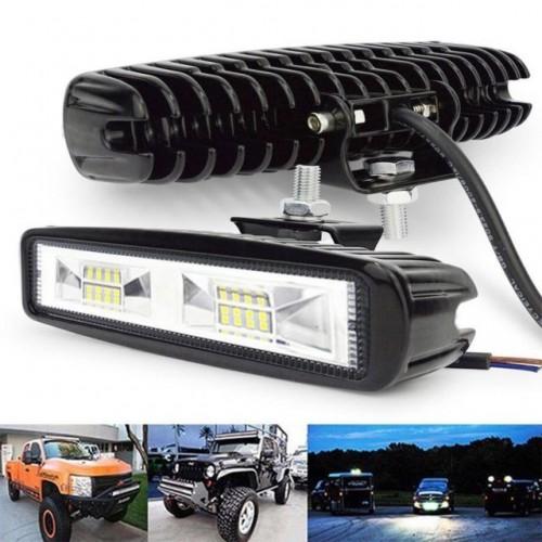 Лед Диоден Бар 16 Led Халоген Лампа Прожектор 12V 24V 16 См 78W