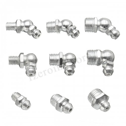 110 Pc Hydraulic Grease (METRIC) Fittings Assortment.