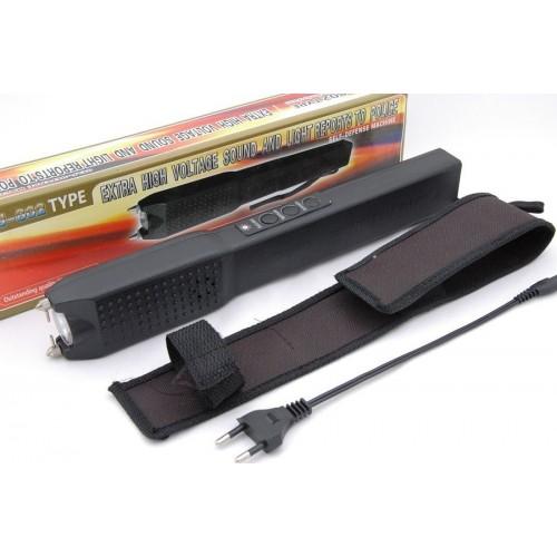 Електрошок със звукова аларма и фенер модел JSJ-802