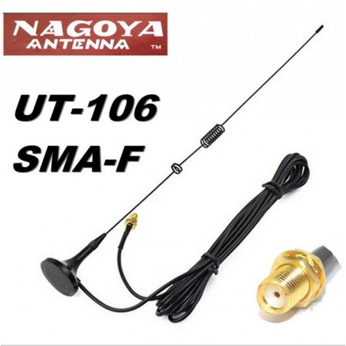 NAGOYA UT 106UV walkie talkie antenna DIAMOND SMA F