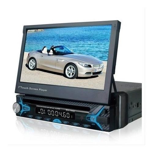 "AUTORADIO DVD STEREO DISPLAY 7\\"" TOUCH FM MP3 USB SD 54Wx4"