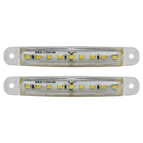 LED Side Front Marker Indicators Lights Lamp Truck Trailer