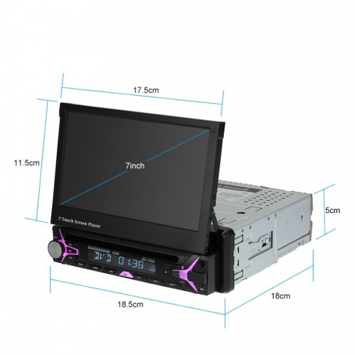 "GPS, BLUETOOTH KAI TFT ΟΘΟΝΗ 7"" ΑΦΗΣ TV/MP4/MP3/USB/SD/AUX/MIC/REAR CAM"