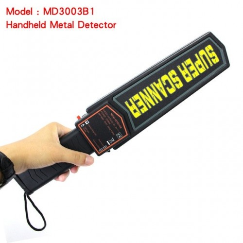 Portable Handheld Security Metal Detector High Sensitivity Metal Scanner Alarm And Vibration