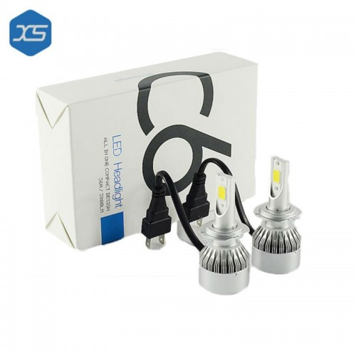 Auto C6 Led bulbs H11 Led Lamp 6000k Good Quality