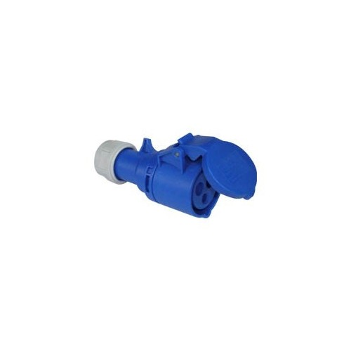 FEMALE INDUSTRIAL PLUG 3P 16A 213-6 IP44 PCE