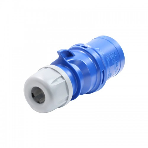 MALE INDUSTRIAL PLUG 3P 32A 023-6 IP44 PCE