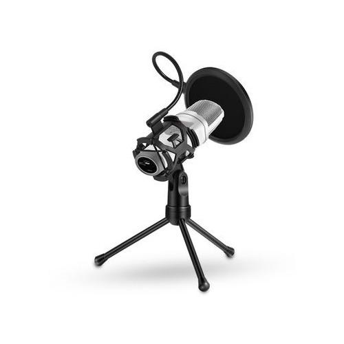 mini microphone pop filter shockproof desktop stand