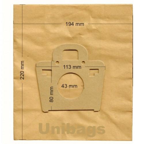1185 - Unibags MOULINEX ΑΝΤΑΛΛΑΚΤΙΚΑ ΗΛ. ΣΚΟΥΠΑΣ