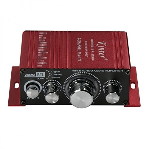 12V 2 Channel Mini Digital Audio Power Amplifier for Car or Mp3