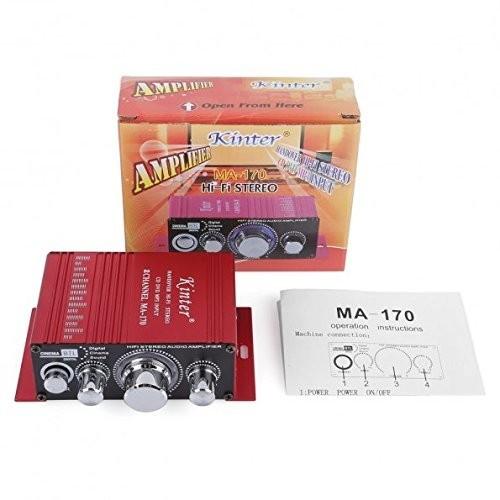 12V 2 Channel Mini Digital Audio Power Amplifier for Car or Mp3