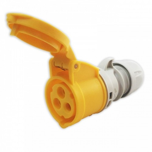 TWIST CARAVAN CONNECTOR 16A 3P 110V